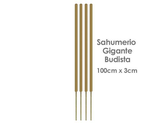 Producto #165D SAHUMERIO GIGANTE BUDISTA (100X3CM) X UNIDAD