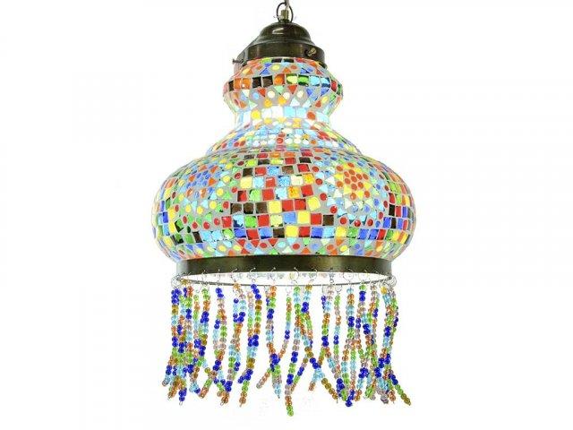 Producto #772F LAMPARA CAMPANA FLECOS  31 CM