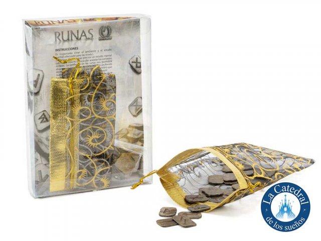 Producto #2030 RUNAS DE METAL (CON FOLLETO Y BOLSITA)