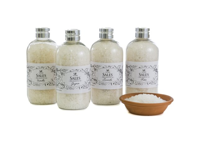 Producto #120P SALES AROMATICAS FRASCO X 250 GRS.