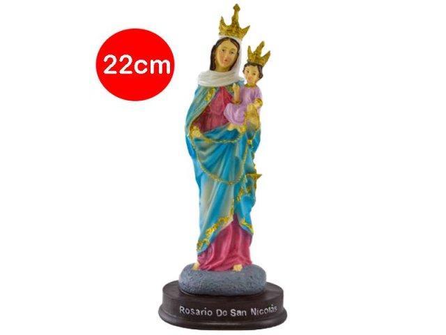 Producto #734CC RESINA ROSARIO DE SAN NICOLAS 22 CM