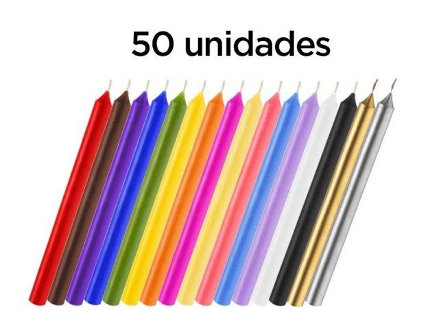Producto #190AA VELA LARGA PACK  X 50 UNID