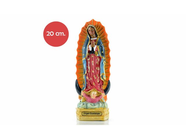Producto #734K RESINA VIRGEN GUADALUPE 20 CM
