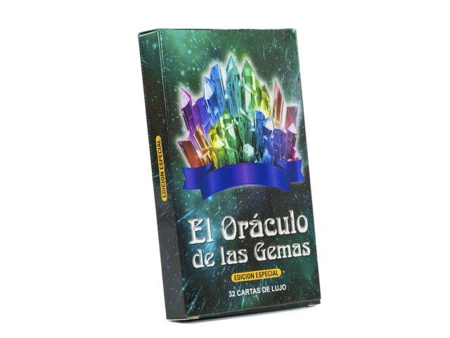Producto #3547       TAROT EL ORACULO DE LAS GEMAS