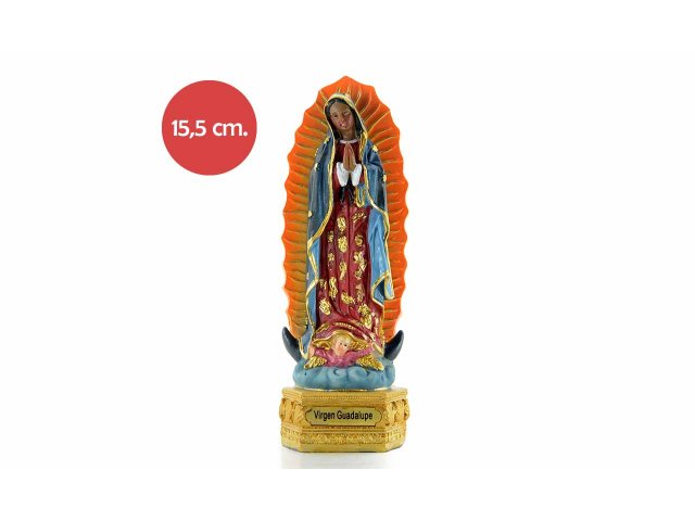 Producto #734L RESINA VIRGEN GUADALUPE 15,5 CM