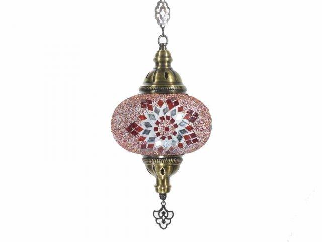 Producto #938T LAMPARA OVAL 1 CADENA 20 CM