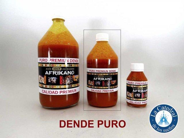 Producto #3438 DENDE PURO AFRIKANO 1/2 LT
