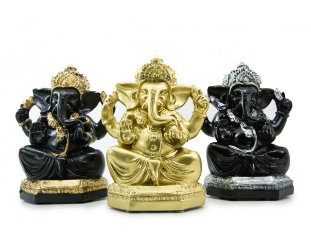 Producto #1742 IMAGEN GANESH YESO CHICO 21 CM