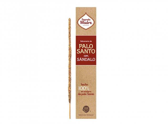Producto #9100D      SAHUMERIO SAGRADA MADRE PALO SANTO CON SANDALO