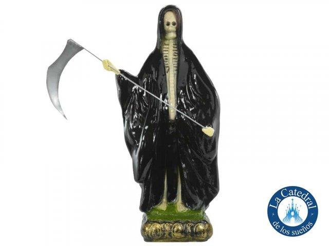 Producto #1307 IMAGEN 50 CM SAN LA MUERTE CON CAPA