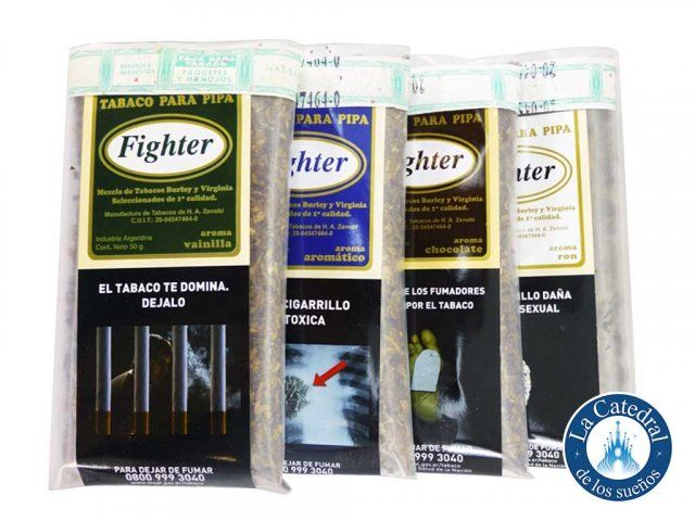 Producto #4510 TABACO PIPA FIGHTER