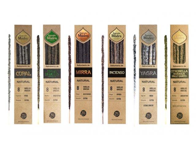 Producto #9200       SAHUMERIOS NATURALES SAGRADA MADRE