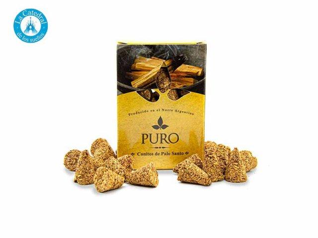 Producto #4324 CONOS PALO SANTO PURO EN CAJA (20 GR)