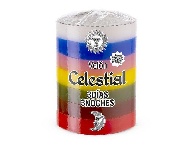 NUEVO CELESTIAL 3 DIAS 7 COLORES 7X5.6 CM