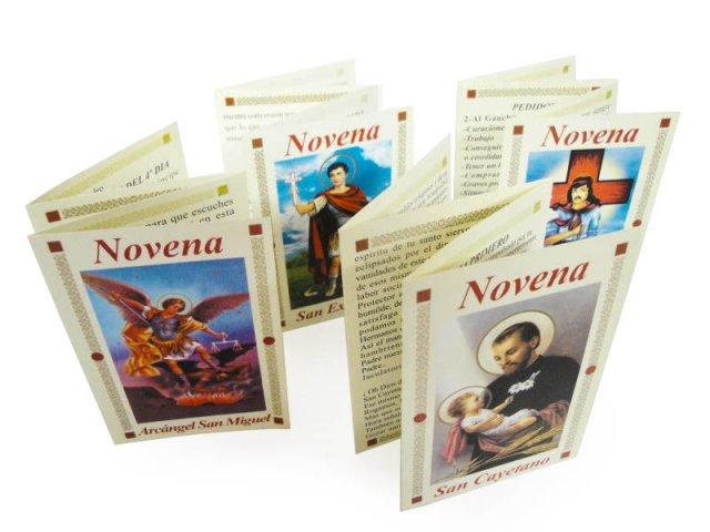 Producto #223 NOVENARIOS DE PAPEL X 1
