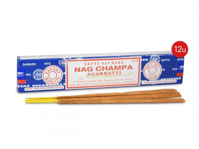 Producto #2856 NAG CHAMPA SATYA CAJA X 12